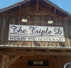 triple D winery and restaurant